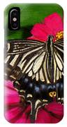 Beautiful Swallowtail Butterfly IPhone Case