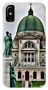 Beautiful Montreal Church IPhone Case