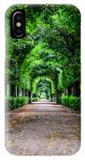 Beautiful Park At Schonbrunn Palace In Vienna Austria IPhone Case