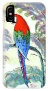 Beautiful Parrot For Someone Special IPhone Case