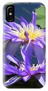 Beautiful Purple Lilies IPhone Case