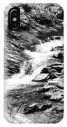 Beautiful Stream Smoky Mountains Bw IPhone Case