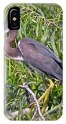 Beautiful Tricolored Heron IPhone Case