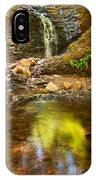 Beautiful View Of Upper Falls Located In Uvas Canyon County Park Forest Reflection IPhone Case