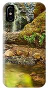 Beautiful View Of Upper Falls Located In Uvas Canyon County Park. IPhone Case