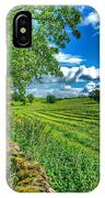 Summer View In Yorkshire IPhone Case