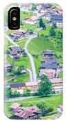 Beautiful Village Lauterbrunnen IPhone Case