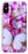 Beautiful White Butterfly IPhone Case