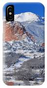 Beautiful Winter Garden Of The Gods IPhone Case