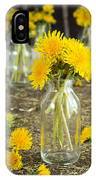 Beauty Among The Weeds IPhone Case