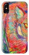 Beauty And Danger IPhone Case