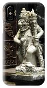 Beauty Of Bali Indonesia Statues 1 IPhone Case