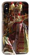 Beauty Of The Barong Dance 3 IPhone Case