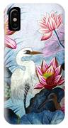Beauty Of The Lake Hand Embroidery IPhone Case