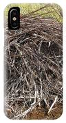 Beaver Lodge IPhone Case