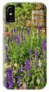 Becker Vineyards' Flower Garden IPhone Case