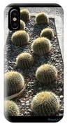 Bed Of Barrel Cacti  IPhone Case