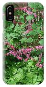Bed Of Bleeding Hearts IPhone Case