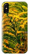 Bee And Goldenrod IPhone Case