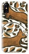 Beechnut Squirrels IPhone Case