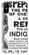 Beemans Pepsin Gum, 1895 IPhone Case