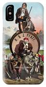 Beer Ad C1870 IPhone Case
