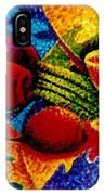 Beet Salad Pointillism IPhone Case