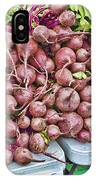 Beets At The Farmers Market IPhone Case