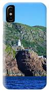 Behind Fort Amherst Rock By Barbara Griffin IPhone Case
