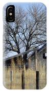 Behind The Fence IPhone Case