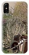 Behind The Garden IPhone Case