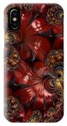 Bejewelled Crimson IPhone Case