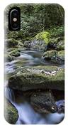 Belelle River Neda Galicia Spain IPhone Case