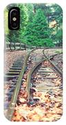 Belgrave Puffing Billy Railway Track IPhone Case