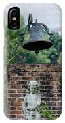 Bell Brick And Statue IPhone Case