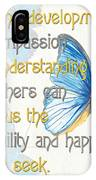 Bella Butterflies 1 IPhone Case