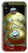 Bellagio Christmas Ornaments IPhone Case