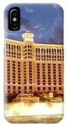 Bellagio Las Vegas IPhone Case