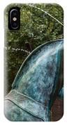 Belmond Charleston Place Horse Fountain IPhone Case