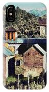Belmont Town IPhone Case
