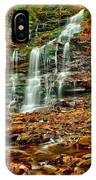 Below Ganoga Falls IPhone Case
