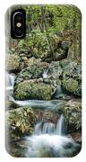 Below Mina Sauk Falls 1 IPhone Case