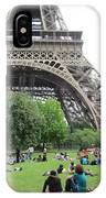 Below The Eiffel Tower IPhone Case