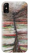 Belsay Hall Quarry Gardens Red And Green IPhone X Case