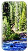 Belt Creek IPhone Case