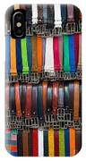 Belts Galore IPhone Case