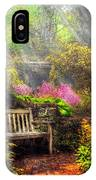 Bench - Tranquility II IPhone Case