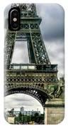 Beneath The Eiffel Tower IPhone Case