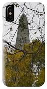 Bennington Monument In Vermont IPhone Case