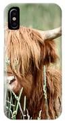 Bent Horn Long Horn IPhone Case